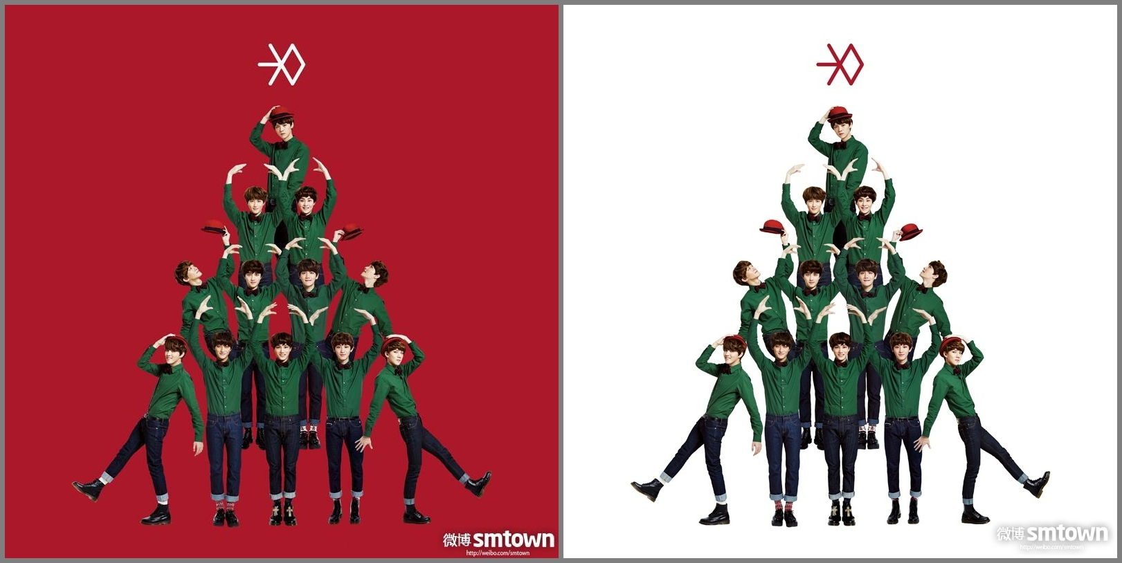 Exo Christmas Album Cover.Exo Miracle In December 2nd Mini Album Info Bluelaberry